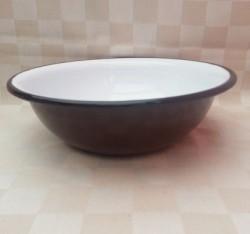 schaal/kom - bruin - 1 liter