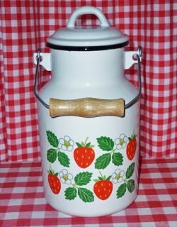 melkbus - wit & aardbeien - 2 liter