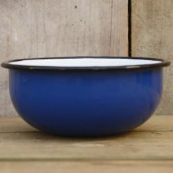 schaaltje/kom - blauw - hoog model