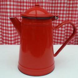 koffiekan - rood - 1,5 liter