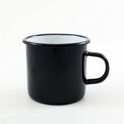 drinkmok - zwart - 8 cm