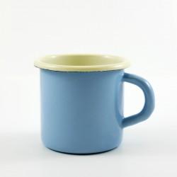 drinkmok - AMSTERDAM - lichtblauw & creme - 8 cm