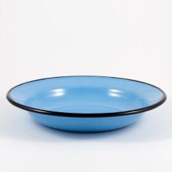 diep bord - lichtblauw - 22 cm