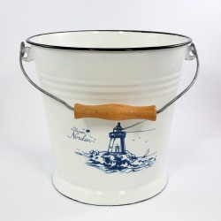 emmer - wit & vuurtoren - 9 liter
