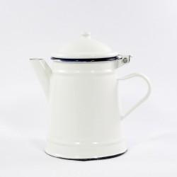 koffiekan - donkerblauw - 1 liter