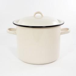 kookpan - rood - 6 liter