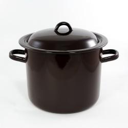 kookpan - bruin - 8 liter