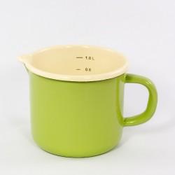 maatkan - ROTTERDAM - groen & crème - 1 liter / 1000 ml