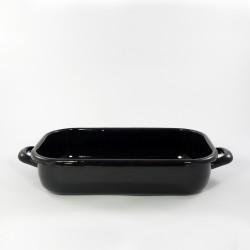 ovenschaal - zwart - 26cmx16cm - (nr. 1)