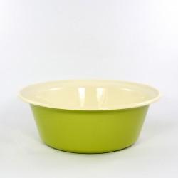schaal/kom - ROTTERDAM - groen & crème - 2 liter - (nr. 2)