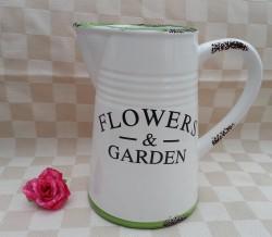 schenkkan - voor bloemen - 1 liter
