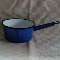 steelpan - blauw - 1 liter - met tuitje