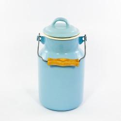 melkbus - AMSTERDAM - lichtblauw & creme - 2 liter