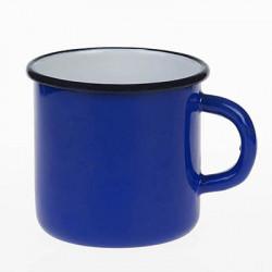 beker - blauw - 8 cm