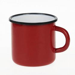 beker - rood - 8 cm