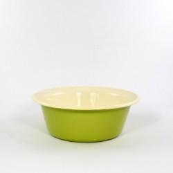 schaal/kom - ROTTERDAM - groen & crème - 1 liter - (nr. 1)