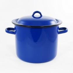kookpan - blauw - 8 liter