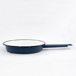 koekenpan - blauw - 19 cm