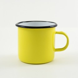 drinkmok - geel - 8 cm