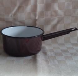 steelpan - bruin - 1 liter - met tuitje