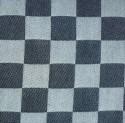 dambont / pompdoekstof - zwart - per meter / per centimeter