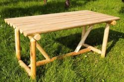 tafel - 'Julia' - rondhout