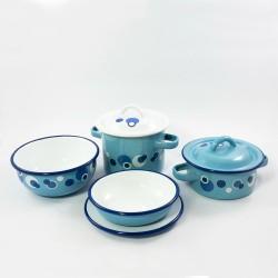 set - baby - blauw - 7 delig