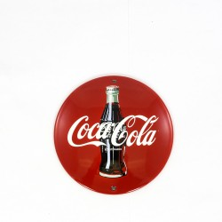 Reclamebord rond - Coca Cola - 13 cm doorsnede