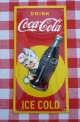 Reclamebord - Coca Cola - 20 x 10 cm