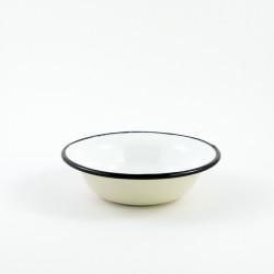 tweedehands - beschadigd - schaaltje/kom - crème  - laag model