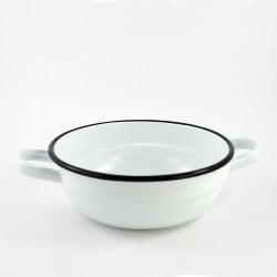 beschadigde - serveerschaal - wit -1,9 liter