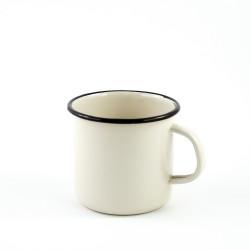 beschadigde - drinkmok - creme - 10 cm