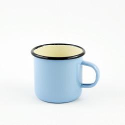 beschadigde - drinkmok - lichtblauw - 8 cm
