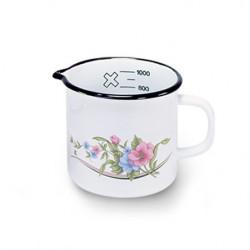 maatkan - lila & lichtblauwe bloemen - 1 liter
