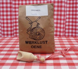 Griesmeel (zonder gist/zout) 500 gram
