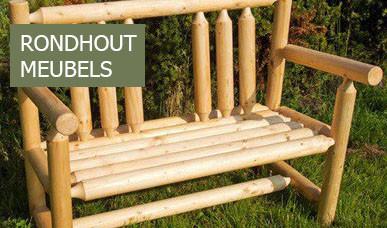 Rondhout meubels